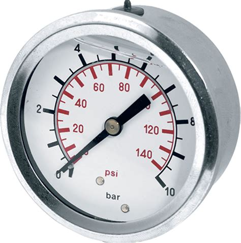 Pressure 6 Bar 2 0 6 Bar Glycerine Filled Pressure Back Entry