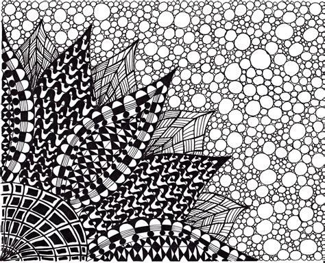 doodle drawings to print zentangle inspired flower print ink drawing by joartyjo