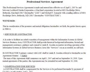 professional services agreement template 95 best agreement templates sle templates