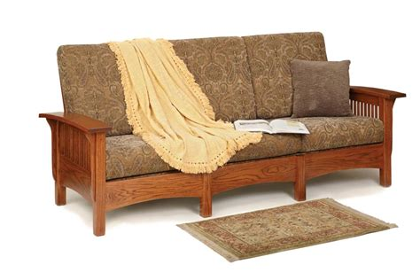 mission style loveseat mission sofa town country furniture