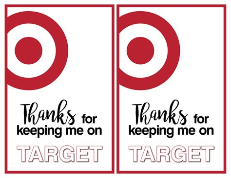 Printable Gift Cards Target - target thank you cards free printable paper trail design