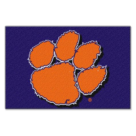 Clemson Rug by Clemson Tigers Ncaa College 39 Quot X 59 Quot Acrylic Tufted Rug