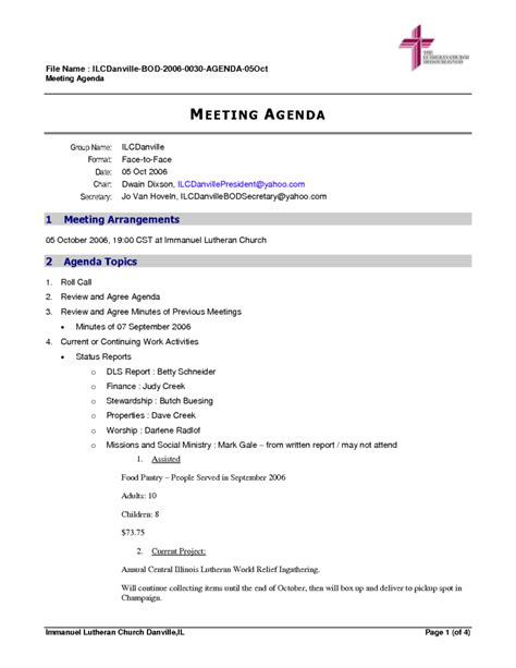 best agenda executive meeting agenda template 4 best agenda templates