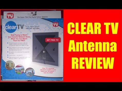 clear tv antenna review