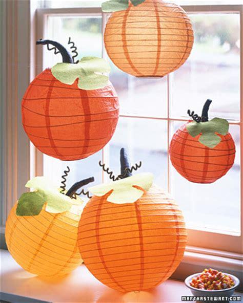 How To Make Paper Lanterns Martha Stewart - pumpkin lanterns step by step diy craft how to s and
