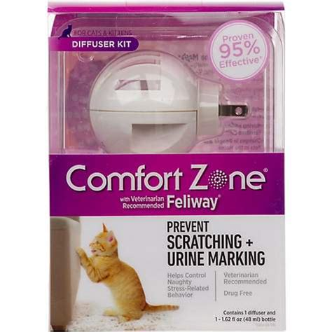 comfort zone for cats comfort zone diffuser with feliway for cats petco