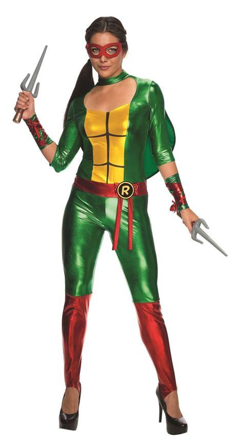 sexy ninja turtle halloween costume adult raphael women bodysuit mutant ninja turtle costume
