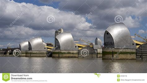 thames barrier animation the thames barrier in london royalty free stock image