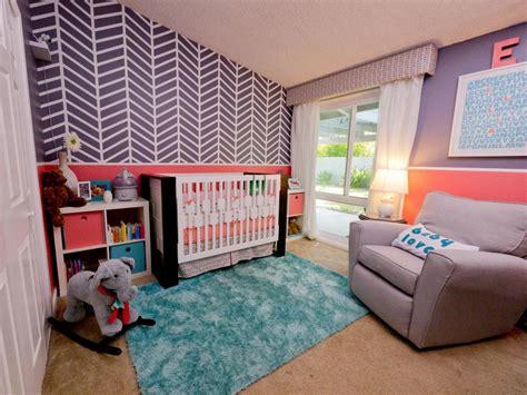 cool kid stylish nursery for a little girl hgtv