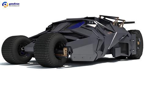 batman car batmobile tumbler batman car 3d model 3d car models