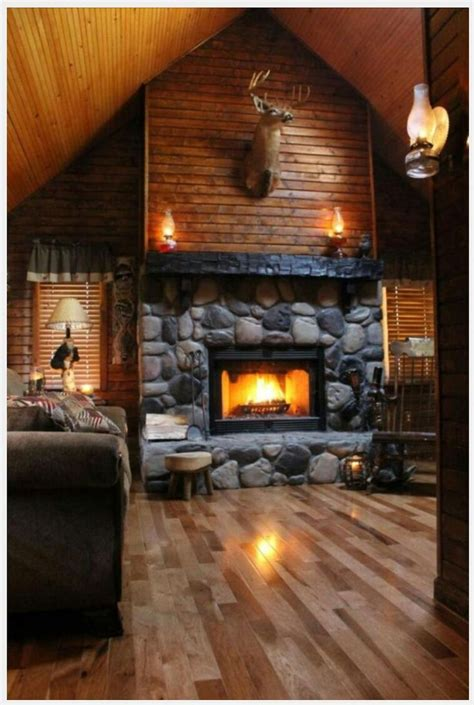 cabin fireplace ideas  pinterest mountain homes timber homes  rustic homes