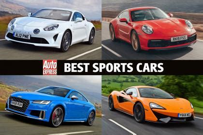 sports cars  auto express