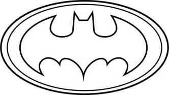 batman symbol outline clipart