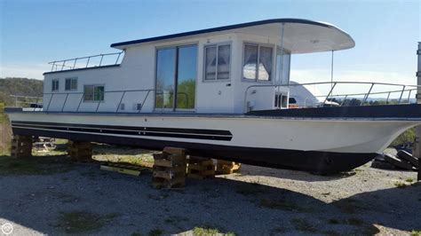 house boats 4 sale 1969 used custom built 50 foot houseboat house boat for sale 15 000 lafollet tn