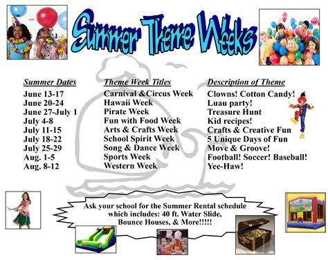 theme names for summer c summer c archives official grace community school blog