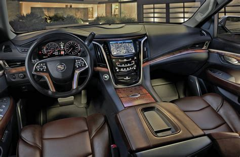cadillac escalade esv custom interior car interior design