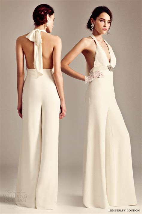 Wedding Dress Jumpsuit by Bridal Fashion Trend The Bridal Jumpsuit Arabia Weddings