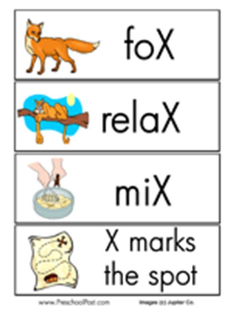Business Terms Letter X Letter X Words For Kindergarten Www Pixshark Images Galleries With A Bite