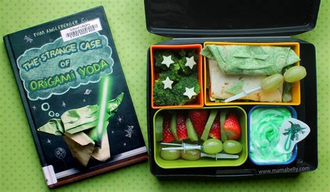 origami yoda book 6 mamabelly s lunches with storybook bento origami yoda
