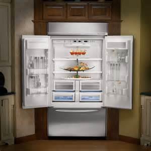 good Kitchenaid 42 Inch Built In Refrigerator #2: KitchenAid-KBFC42FTS-Built-In-French-Door-Refrigerator1.jpg