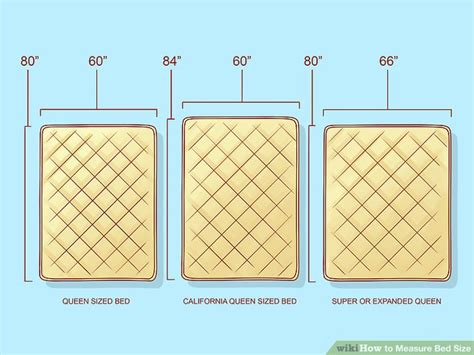 what is the width of a full size bed how to measure bed size 10 steps with pictures wikihow