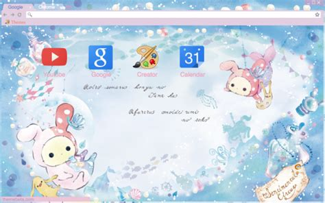 theme google chrome one piece new world sentimental circus mermaids chrome theme themebeta