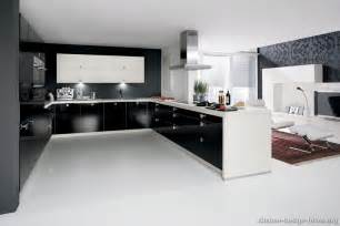 Contemporary Style Kitchen Cabinets by Have The Black And White Kitchen Designs For Your Home
