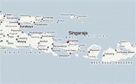 map singaraja bali singaraja location guide