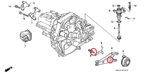 honda civic clutch fork is it possible to grease clutch fork pivot without