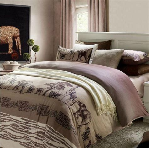 free shipping fashion home textile elephant 4pcs bed set
