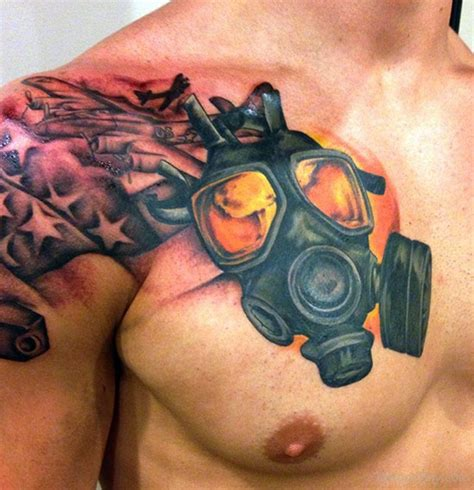 awesome chest tattoos chest tattoos designs pictures page 5