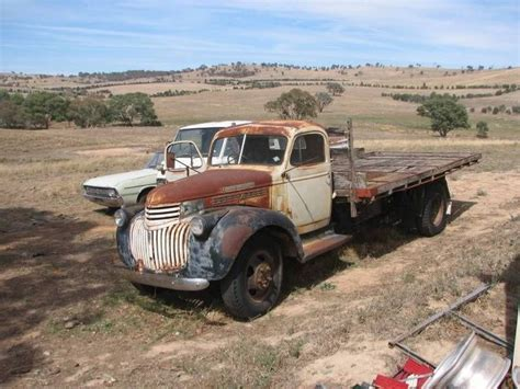 Barn Auto Parts 1946 Chev Maple Leaf Truck With A Holden Body Chevs In