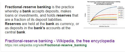 reserve section in the library definition fractional reserve banking is pure fraud part i jeff