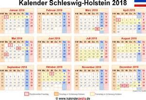 Kalender 2018 Ferien Feiertage Schleswig Holstein Kalender 2018 Schleswig Holstein Ferien Feiertage Excel