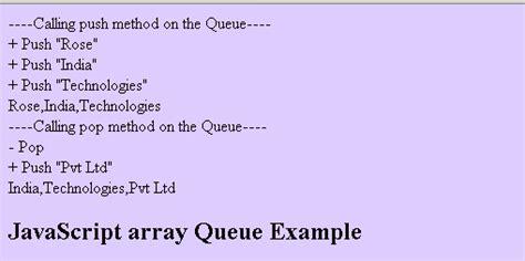 javascript queue tutorial javascript array exle image search results