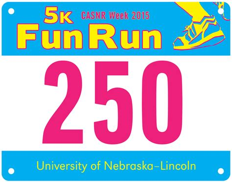 race bib template casnr 5k run race bib up is wednesday thursday