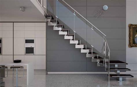 handlauf metall 40 treppengel 228 nder glas luftiges gef 252 hl im innendesign