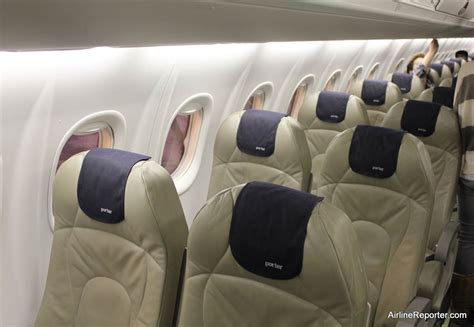 Porter Airlines Cabin by Porter Airlines Seating Options Flight Centre