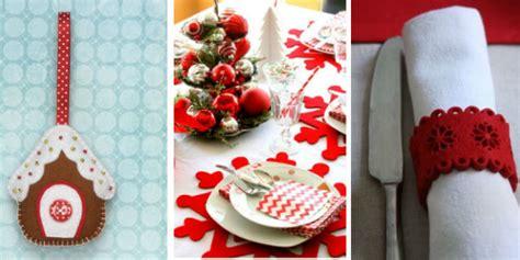 decorare la tavola di natale fai da te 7 idee fai da te per decorare la tavola di natale roba