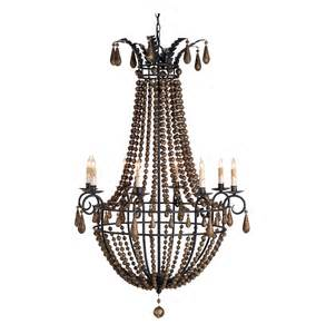 wood beaded chandelier europa wooden beaded swag 8 light chandelier kathy kuo home