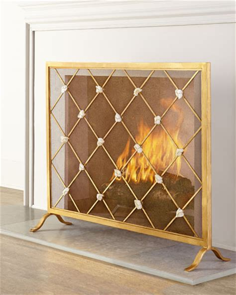 Fireplace Screen Single Panel by Single Panel Fireplace Screen