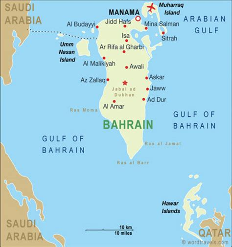 bahrain map with cities bahrain map and bahrain satellite images