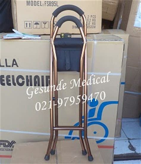 Kursi Roda Yang Bisa Dilipat tongkat kursi bisa dilipat fs9111l alat bantu jalan