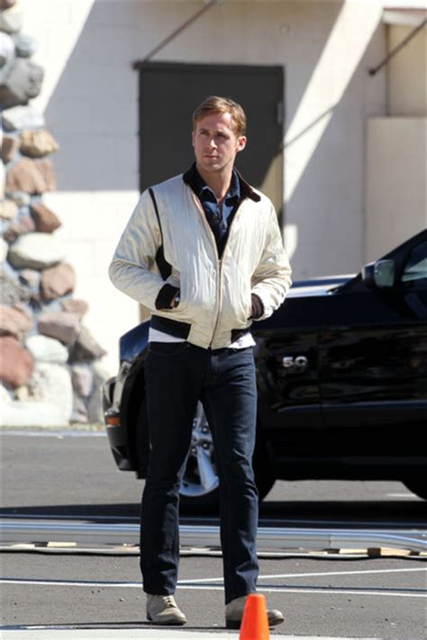 more pics of ryan gosling denim jacket 6 of 19 denim