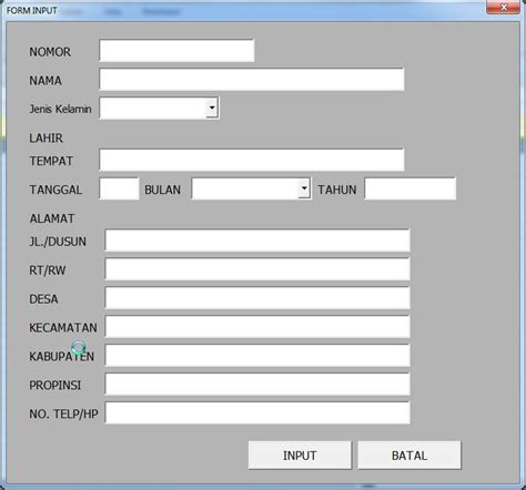 cara membuat form login di vba excel membuat form input excel solution