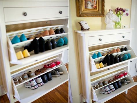 best shoe storage ideas 5 ingenious places to install a shoe cabinet bonito designs