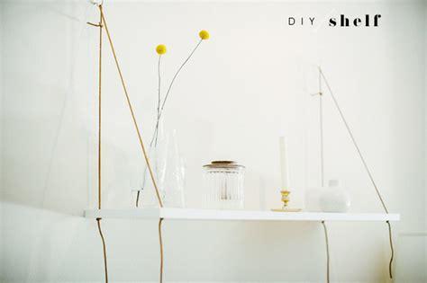 Diy Hanging L diy hanging shelf la la lovely