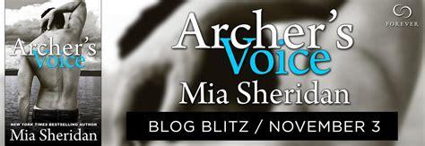 Novel Archers Voice archer s voice by sale blitz 187 cheeks