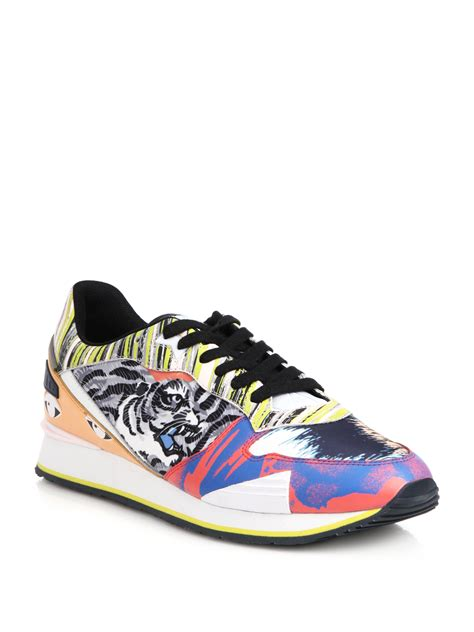 kenzo shoes kenzo logo skate sneakers for lyst