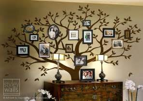 Family Tree Stickers For Walls Family Tree Wall Decal Tree Wall Decal Photo Frame Tree